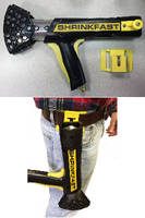 Belt Clip helps streamline shrink wrap installation.