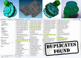 CAD Software compares sets of 3D models.
