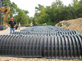 Cultec Stormwater Chambers Save Time and Money at Shopping Center Site