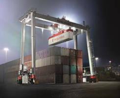 RTG Crane increases efficacy via bottom-located operator cabin.