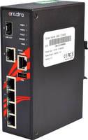PoE+ Gigabit Managed Ethernet Switch is designed with 6 ports.