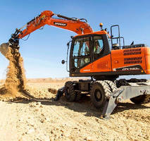 Wheel Excavators feature Tier 4 compliant diesel engines.