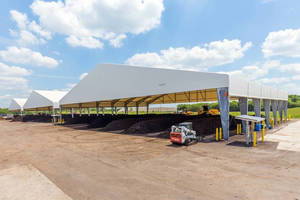 Lee County Composting Facility Expansion Includes New Fabric Structures from Legacy Building Solutions