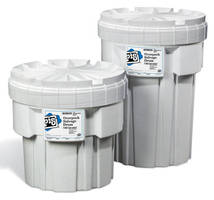 Hazardous Material Overpacks come in 20 and 30 gal sizes.