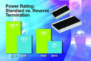Thick Film Chip Resistors feature long side terminations.