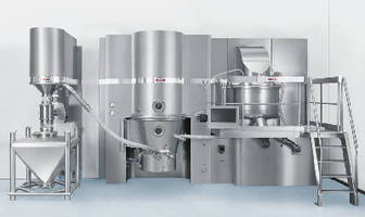 Granulation Unit meets pharmaceutical requirements.