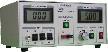 Waveform Amplifier suits test and measurement applications.