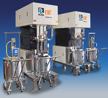 Multi-Shaft Mixers with Interchangeable Vessels and Special Cover