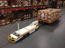 New Creform Super NSI AGV Combines with Existing System to Deliver Heavy Carts Just in Time