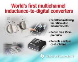 Inductance-to-Digital Converters offer 28-bit resolution.
