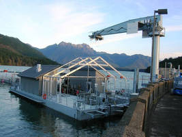 American Crane and Equipment Corporation Helps Lift Salmon Across the Cushman Dams in Washington State