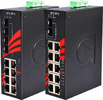 Unmanaged PoE Switches withstand extreme outdoor applications.