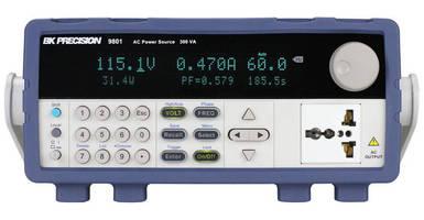 AC Source features Power Line Disturbance simulator.