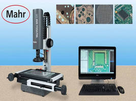 Video Measuring Microscope offers image processing capability.