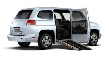 Personnel Vehicle accommodates 2 wheelchair users.