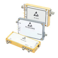 Log Video Amplifiers offer broadband performance to 18 GHz.