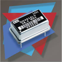 SMD/14-Pin DIP OCXO promotes standards compliance.