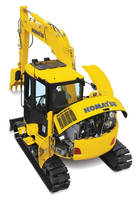 Compact Hydraulic Excavator utilizes Tier 4 Final engine.