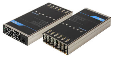 Configurable Power Supply combines high efficiency, power density.