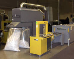 Portable Trim Collection Unit minimizes trim waste volume.