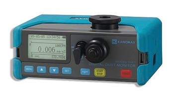 Digital Dust Monitor supports use in diverse applications.