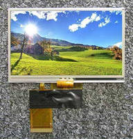LED-Backlit Touch Panel LCDs can be read in strong ambient light.