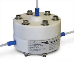 PTFE Regulator can withstand high pressures.