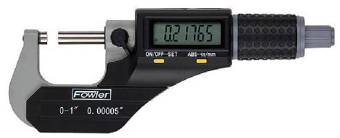 Electronic Micrometer offers 0.00016 in. accuracy.