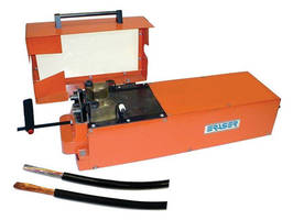 Precision Blade Strippers Provide a Clean Strip on Jacketed Material
