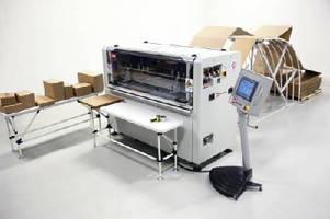 Box Making Machine creates right sized box for every shipment.