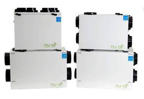 Energy/Heat Recovery Ventilators help reduce operating expenses.