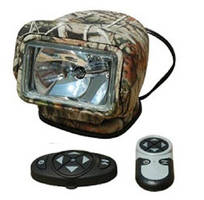 Wireless Remote Control HID Spotlight produces 3,000 lm beam.
