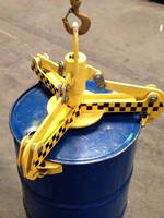 Below-Hook Drum Handler combines capacity and safety.