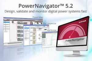 Intersil's Latest PowerNavigator® GUI Speeds Digital Power System Design, Validation and Monitoring