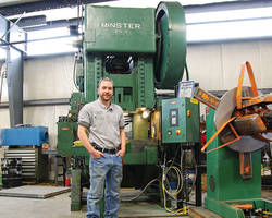 Norse Adds 110-Ton Minster Press