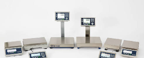 Modular Industrial Scales offer intuitive operation.