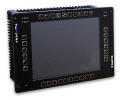 Touchscreen HMI supports transportation systems.