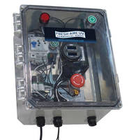 Control Panel monitors commercial UV system efficacy, safety.