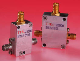 Bias Tees support signal processing applications.