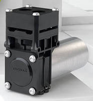 Diaphragm Pump is designed for low-noise operation.