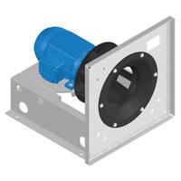 Plenum Fans feature backward curved airfoil wheels.