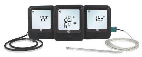 Wireless Data Loggers monitor vaccine temperature.