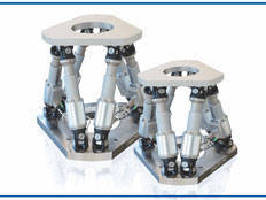 Pre-Configured Hexapods support 6-axis precision motion.