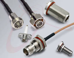 Coaxial Connectors that Take on the Elements Featured by San-tron at IMS 2015