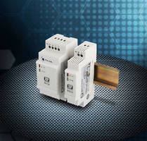 DC-DC Converters provide isolated outputs and noise immunity.