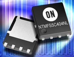 N-Channel 40/60 V MOSFETs reduce losses to increase efficiency.