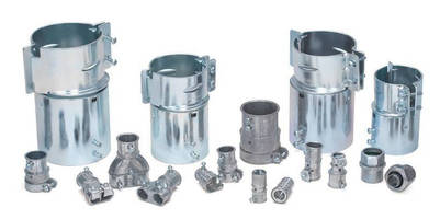 EMT to FMC Transition Couplings help contractors conserve time.
