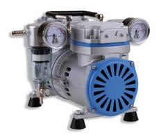Vacuum/Pressure Piston Pump has extended service life design.