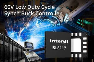 Synchronous Buck PWM Controller simplifies power supply design.