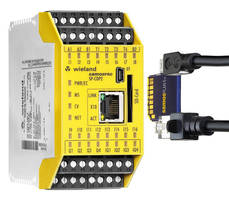 Programmable Safety Controller helps simplify designs.